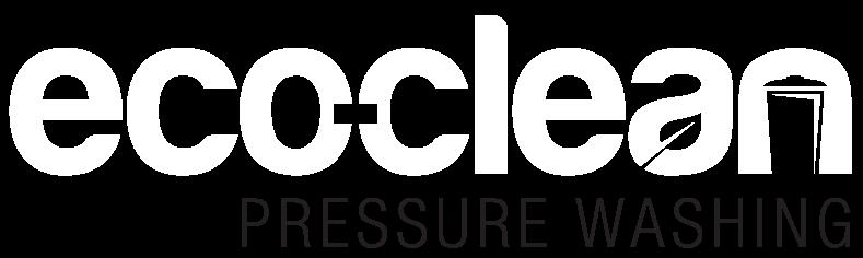 eco-clean pressure washing logo