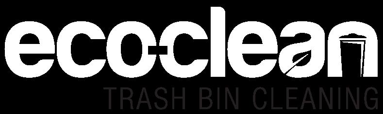 eco-clean trash bin cleaning logo